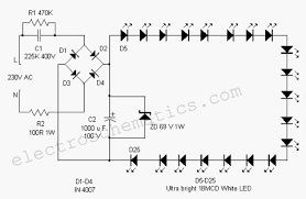 led circuits and projects blog jun 25 2014 white led flood lamp