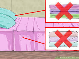 image titled make a hotel bed step 1