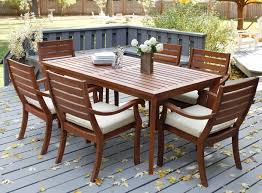 fabulous outdoor dining tables and chairs and outdoor dining furniture ikea pplar table and 4 folding