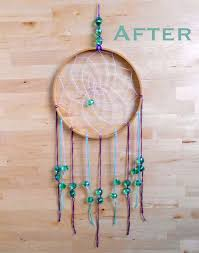What To Use For A Dream Catcher Hoop This summer I've been working really hard at trying to do less and 1