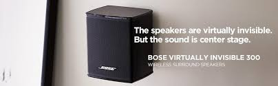 bose virtually invisible 300 speakers. wireless surround speakers bose virtually invisible 300 a