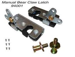 car door latch. Plain Latch 94001 MANUAL BEAR CLAW LATCH Inside Car Door Latch