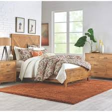 home decorators collection parkston distressed natural queen bed