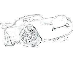 Coloring Pages Lightning Mcqueen Color Free Cars Printable Lig Acnee