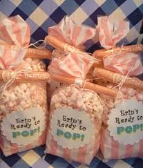modest design popcorn baby shower favors innovational ideas salty sweet delicious ready to pop