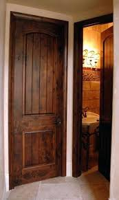 wood interior doors with white trim. Wood Interior Doors Image Of Solid Shapes Stained With White . Trim