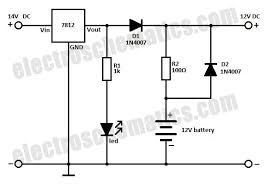 battery backup circuit battery backup circuit schematic