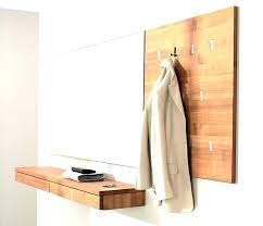 white wooden wall hooks wall mounted coat rack wooden wall hook rack coat racks modern wall