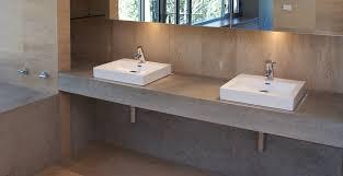 bathroom concrete countertop by phil markham cheng concrete exchange