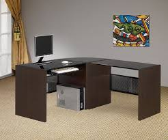 image of l shaped office desk small