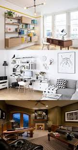 Office desk layouts Four Interior Design Fabulous Home Office Desk Designs For Living Rooms