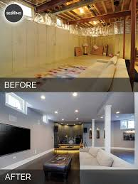 basement remodels before and after. Basement Remodel Before And After Home Desain 2018 Remodels H