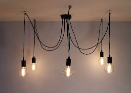 industrial chandelier lighting. Spider Chandelier 3-5 Lights Multi Pendant Light Industrial Modern Lighting I