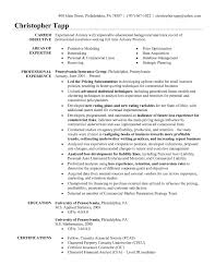 Actuary Resume Resume Examples 10 Best Of Actuary Resume Template