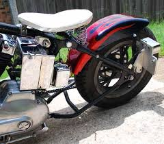 1973 sportster ironhead harley bobber motorcycle with santee