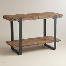 demilune console tables inspirational iron legs and basket wood console table stunning reclaimed tables