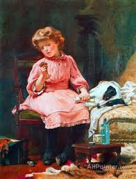 charles burton barber paintings for not much wrong