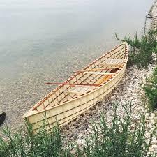 margaret 14 ultralight skin on frame canoe by southstboatbuilders