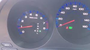 Acura Tl Dash Lights 06 Acura Tl Green Light Blinking