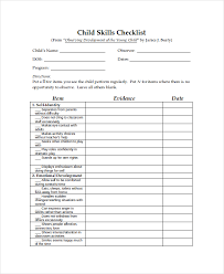 Blank Checklist Template Fascinating 48 Examples Of Checklists In Word Doc Format