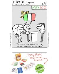 Itchy Feet: the Travel and Language Comic: Itchy Feet Month #9: So ...