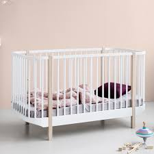 scandinavian nursery furniture. Home / Nursery Furniture Cots And Cotbeds Curved Cotbed By Oliver - White Oak Scandinavian