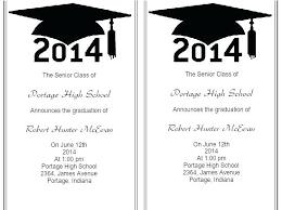 Graduation Announcements Photoshop Templates Free Announcement