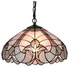 amora lighting am297hl16 tiffany style white hanging lamp 16 victorian pendant lighting by uber bazaar