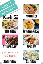 Family Meal Plans Easy Weekly Meal Plan Week 58 Family Fresh Meals