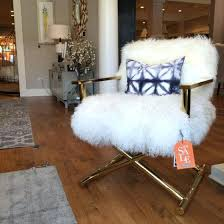 white fur chair white furry chair target design ideas