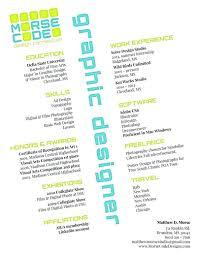 Resume: Sample Resume Graphic Design