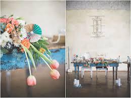 tulips wedding decor ideas delightfully handmade diy teal turquoise peach vintage south