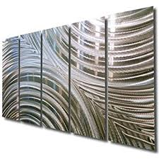 giant silver metal wall sculpture metal wall art silver wall decor contemporary  on metal wall art cheap with amazon giant silver metal wall sculpture metal wall art