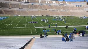 Air Force Academy Football Seating Chart Punctilious Usafa Football Stadium Seating Chart 2019