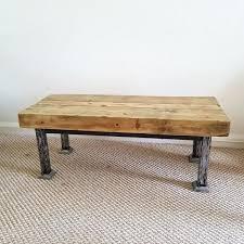 industrial style coffee table railway sleeper commercial industrial style coffee table trade industrial style coffee table