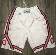 Basketball teams basketball shorts basketball tournament ohio state basketball mens basketball buckeye basketball cyo basketball ohio state buckeyes men's basketball team adjusts gas on conditioning, now has plenty left to burn. Ohio State Buckeyes Authentic Nike White Basketball Shorts W Ncaa Patch Small Sportscards Com