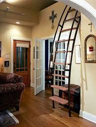 tiny house loft ladder. Tiny House Ladder Loft