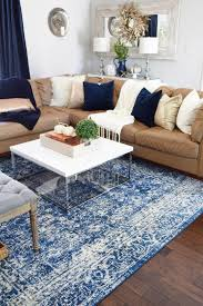 colorful area home goods carpets tj ma rugs is grounded by neutral furniture and mix of