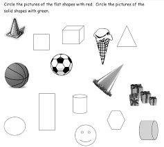 3-D Shapes (songs, videos, games, worksheets, activities)