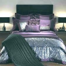 purple bedding sets king luxury cotton