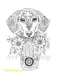 Art Of Dachshund Coloring Book Best Of Dachshund Coloring Pages
