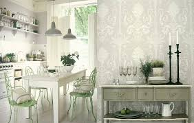 ... Kitchen Wallpaper Designs For Kitchen And Kitchen Design Filled By  Great Environment And Good Looking Outlooks