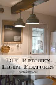 Light Fixture For Kitchen Diy Kitchen Light Fixtures Part 2 My Creative Days