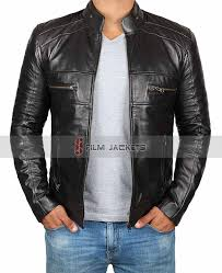mens perforated jacket