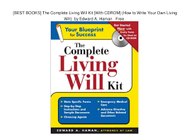 Write your own will kit