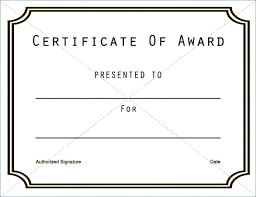 Free Award Certificate Templates Word Certificates Template Funny ...