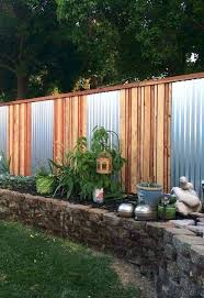 corrugated metal privacy fence. Simple Fence CorrugatedMetalPrivacyFenceIdeas On Corrugated Metal Privacy Fence C