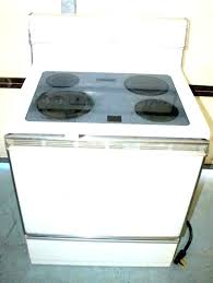 slide in smart gas ran with self cleaning glass top stove heating element n profile ge