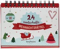 Weihnachtsrätsel 24 unterhaltsame quizfragen rund um das weihnachtsfest. 24 Zauberhafte Weihnachtsratsel Adventskalender Fur Erwachsene Aufstell Buch Mit Ratseln Amazon De Lamping Laura Kolsch Christina Bucher