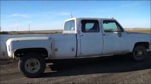 1976 Chevy Crew Cab Dually For Sale - YouTube